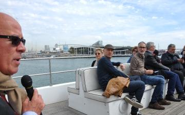 Visita al Port de Barcelona